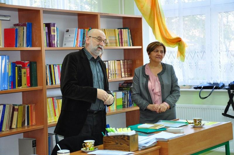 Spotkanie z pisarzem Wojciechem Pestką