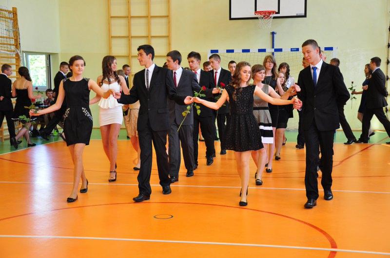 Bal gimnazjalny 2013 w Jedlni
