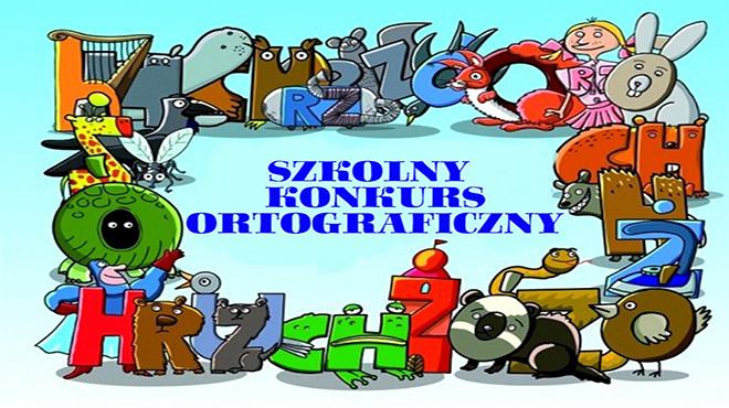 """Konkurs ortograficzny """"ORTOKRÓL"""""""