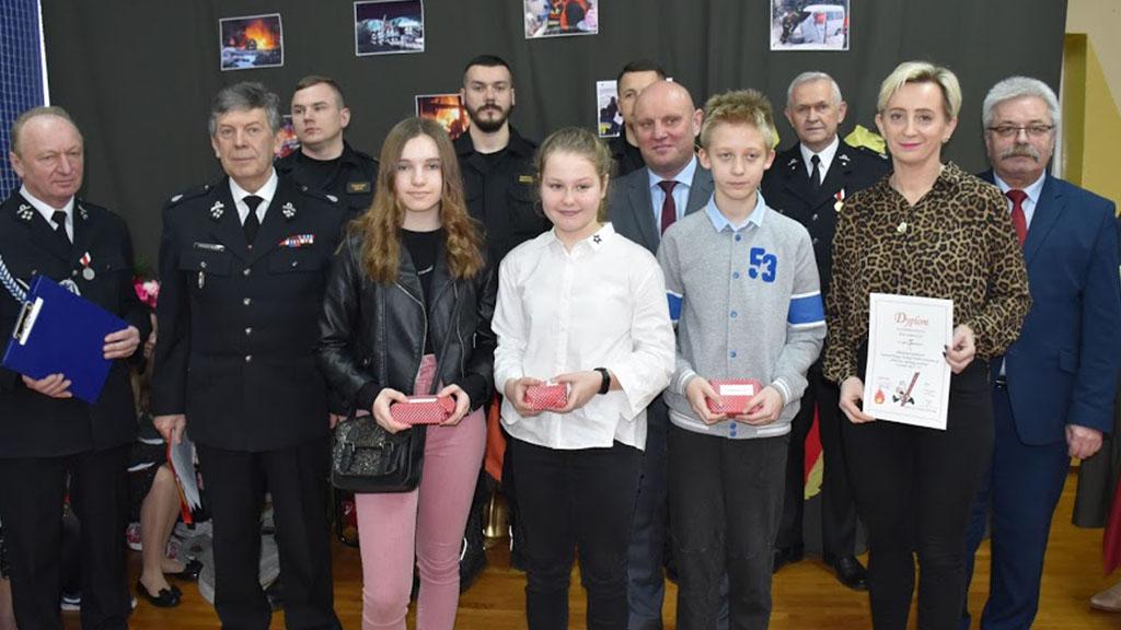 Eliminacje Gminne do XLIII Ogólnopolskiego Turnieju Wiedzy Pożarniczej.
