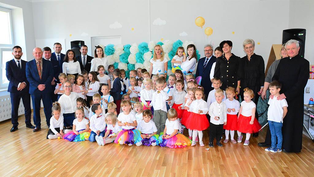 Uroczyste otwarcie Publicznego Przedszkola w Jedlni.